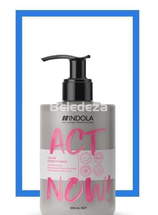 ACT NOW COLOR CONDITIONER Acondicionador Protector Color VEGAN FORMULA - Imagen 1