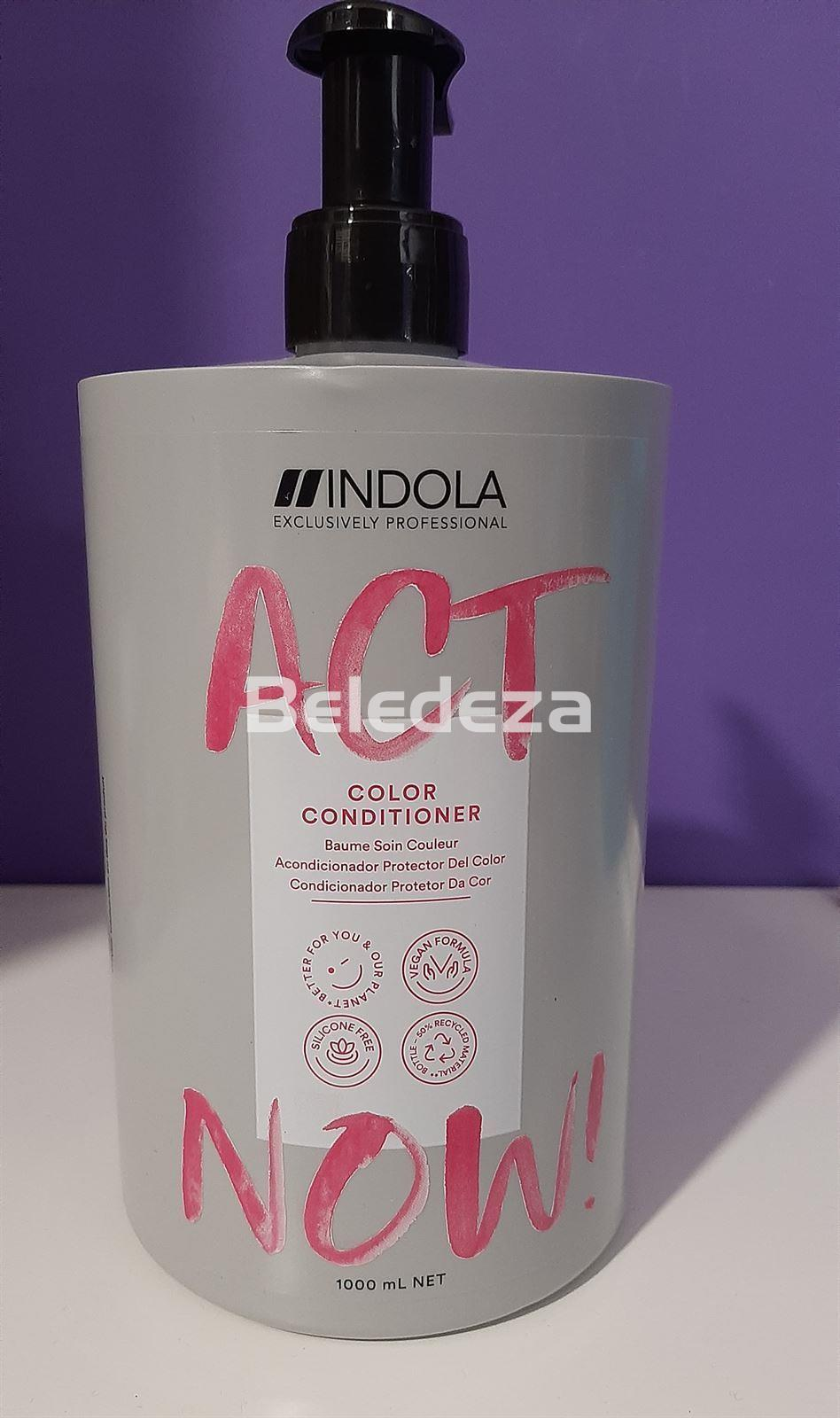 ACT NOW COLOR CONDITIONER Acondicionador Protector Color VEGAN FORMULA - Imagen 2