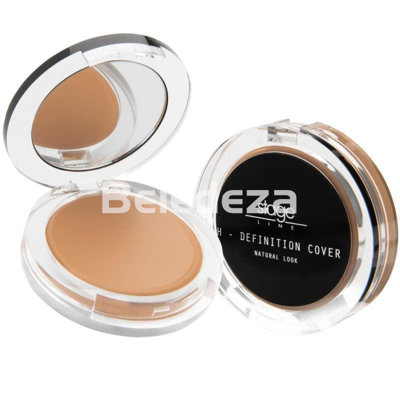 H-DEFINITION COVER MAKE UP STAGE LINE Maquillaje Compacto Alta Cobertura Stage - Imagen 1