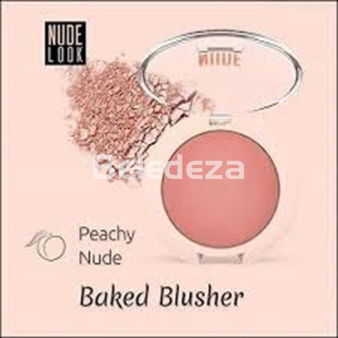 NUDE LOOK FACE BAKED BLUSHER PEACHY NUDE Colorete Facial Melocotón Nude - Imagen 1