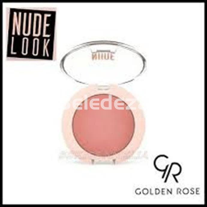 NUDE LOOK FACE BAKED BLUSHER PEACHY NUDE Colorete Facial Melocotón Nude - Imagen 2