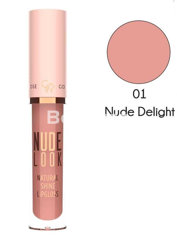 NUDE LOOK NATURAL SHINE LIPGLOSS Brillo Gloss Labios Nude - Imagen 2
