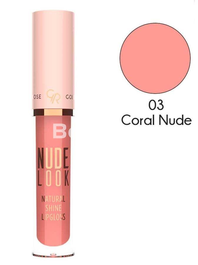 NUDE LOOK NATURAL SHINE LIPGLOSS Brillo Gloss Labios Nude - Imagen 4